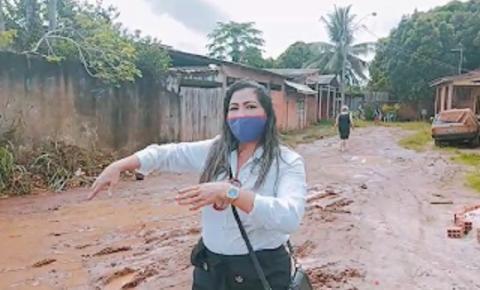 Moradores de Santana denunciam abandono do bairro Fonte Nova