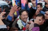 Itamaraty envia mensagem de saudação ao presidente eleito da Bolívia.