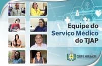 Serviço Médico do TJAP ameniza tensões geradas pela pandemia sobre magistrados, servidores e colaboradores