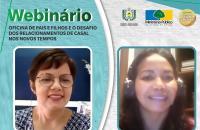 """Webinário sobre """"o desafio dos relacionamentos de casal nos novos tempos"""" integra programação da Semana Nacional de Conciliação em Santana/Ap."""