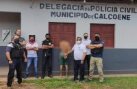 Polícia Civil prende homem condenado por tráfico de drogas em Calçoene/Ap