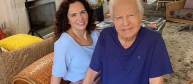 Filhos de Cid Moreira pedem interdição do pai por demência