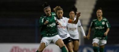 No Allianz, Palmeiras e Corinthians abrem final do Brasileiro Feminino