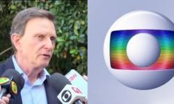 Revoltado Crivella desabafa contra rede Globo.