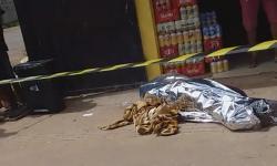 Vídeo completo - Cenas fortes - Vendedor reage a assalto e é morto a tiros no Novo Buritizal