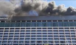 Vídeo: Incêndio atinge Hospital Santa Luzia no DF