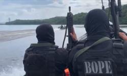 """Vídeo: Operação Marítima prende """"Coiote"""" e 3 imigrantes ilegais sírios na fronteira de Oiapoque/Ap."""