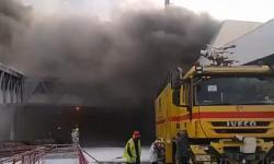 Vídeo: Incêndio atinge um dos fingers do aeroporto de São Luís.