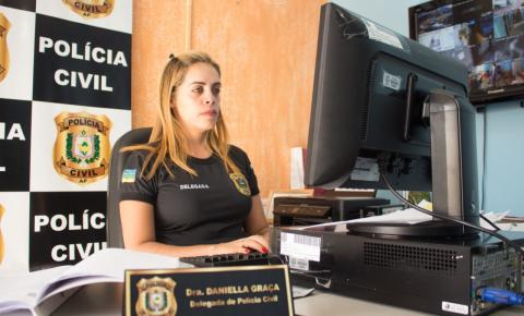 Polícia Civil do Amapá apreende adolescente sentenciado por ato infracional análogo ao crime de homicídio.