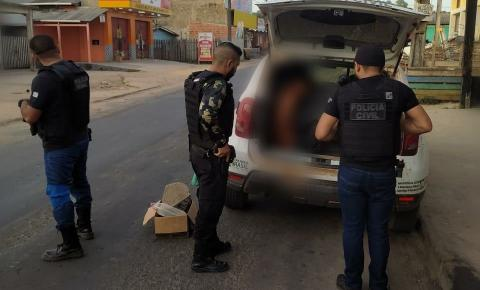 Homem é preso em Laranjal do Jari/Ap por descumprir medida protetiva.
