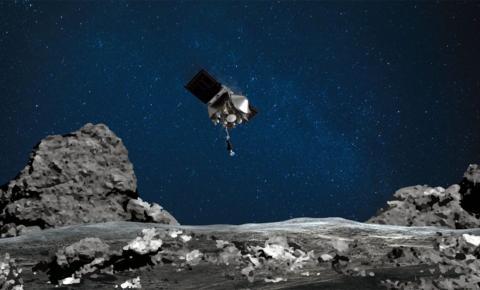 Nave espacial Osiris toca com sucesso asteroide Bennu