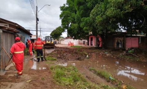 Prefeitura de Macapá/Ap intensifica trabalho de prevenção de alagamentos e recuperação de vias
