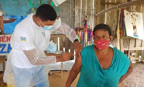 Vacinação contra covid-19 tem grande aceitação entre povos indígenas do Oiapoque/Ap.