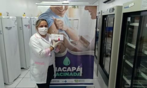 Macapá/Ap recebe 2.920 mil doses da vacina de Oxford-AstraZeneca contra a Covid-19.