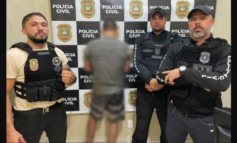 Foragido do Amapá apontado como líder da maior organização criminosa que atua no estado é preso em Santa Catarina