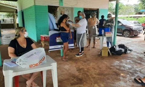 Covid-19: Mil quilombolas e ribeirinhos de áreas remotas são vacinados durante o final de semana em Macapá/Ap