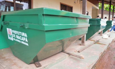 Cidade Limpa: Prefeitura distribuirá contêineres para evitar a ocorrência de lixeiras viciadas em Macapá/Ap