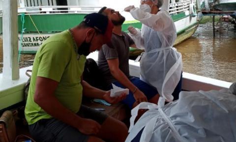 Pescadores venezuelanos detidos por pesca ilegal no Amapá passam por avaliação de saúde