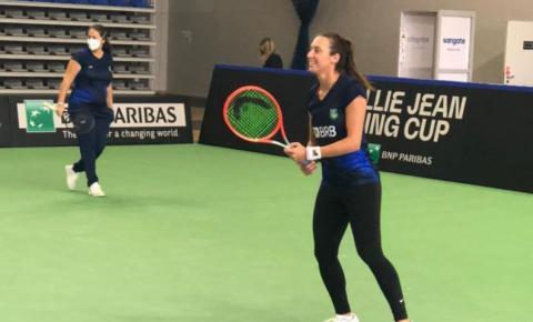 Tênis: Brasil decide futuro na Billie Jean King Cup contra Polônia