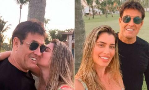 Sérgio Mallandro apresenta namorada 30 anos mais nova