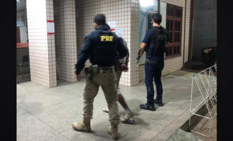 PC e PRF prendem faccionado investigado por roubo de veículos em Macapá/Ap