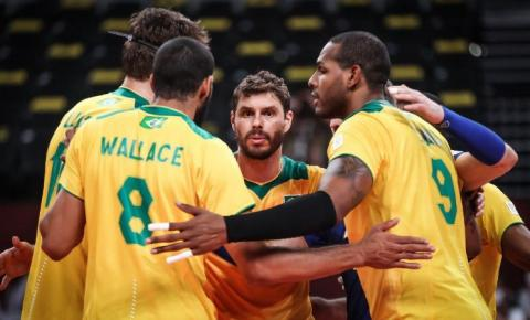 Com muita emoção, Brasil vira e vence a Argentina no tie-break