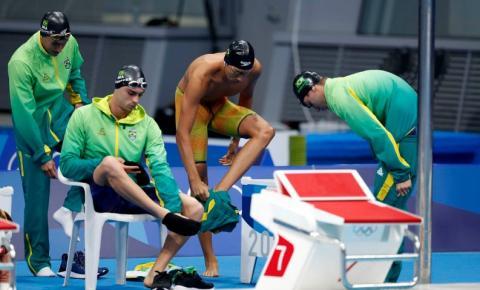 Olimpíada: revezamento 4x200 metros termina final em oitavo lugar