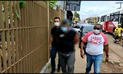 Foragido da Justiça paraense por estupro é preso pela  Polícia Civil do Amapá.
