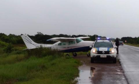 Aeronave  faz pouso forçado na BR-156 no Amapá