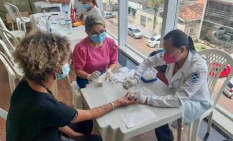 Ação da Semsa em shoppings de Macapá/Ap realizou mais de mil testes rápidos para diagnóstico de hepatite B e C