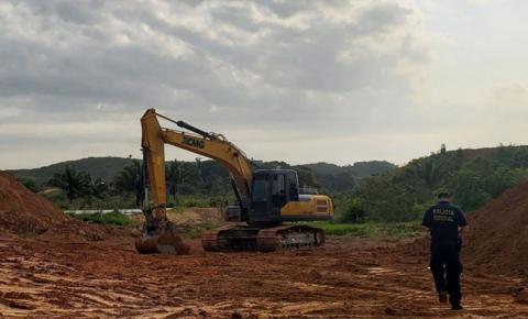 PF desarticula grupo que mantinha garimpos ilegais no Maranhão