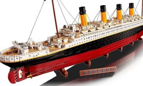 Com mais de 9 mil peças, Lego lança o maior modelo de sua história: o Titanic