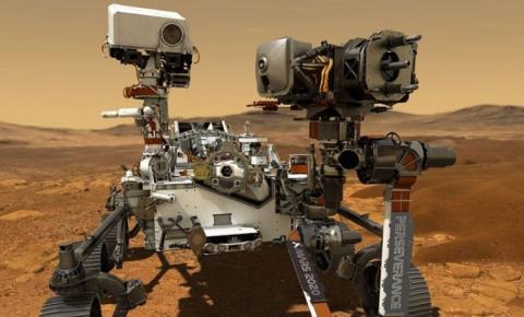 Imagens do robô Perseverance confirmam existência de lago em Marte
