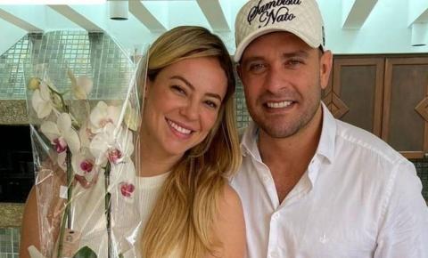 Após boatos de casamento, Paolla Oliveira e Diogo Nogueira assinam união estável em cartório do RJ