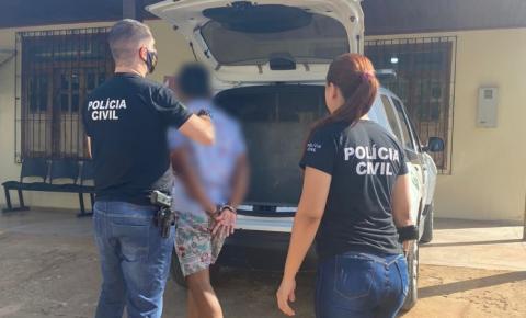 Homem é preso em flagrante após agredir namorada em praça pública em Laranjal do Jari/Ap