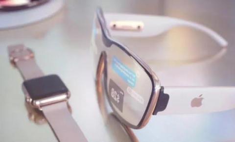Apple Glass poderá detectar estresse e deixar superfícies sensíveis ao toque.