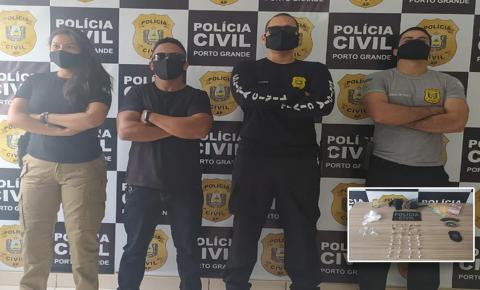 Adolescentes são apreendidos por roubo de celular em Porto Grande.