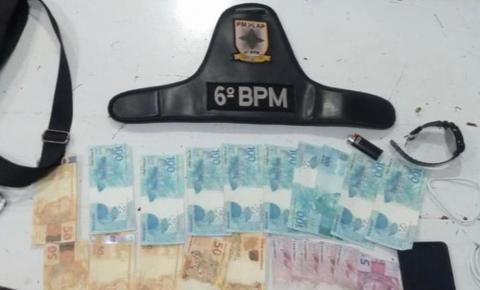 Flagrante! Suspeito de comprar telefone de um policial, com R$1.200 em notas falsas, é preso em Macapá