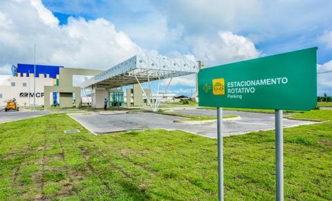 Exercícios físicos são proibidos na parte interna do estacionamento do Aeroporto de Macapá.