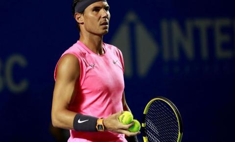 Rafael Nadal desiste do US Open de Tênis por causa da pandemia