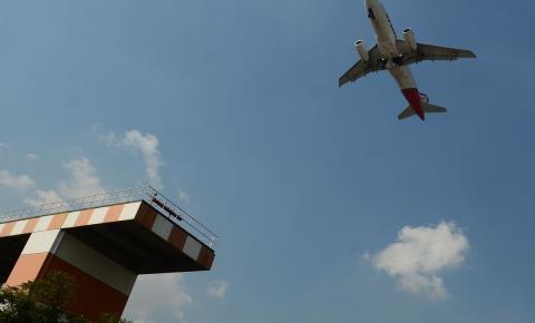 Pista principal do Aeroporto de Congonhas é fechada para manutenção
