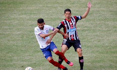 Bahia e Atlético de Alagoinhas iniciam duelo por título estadual