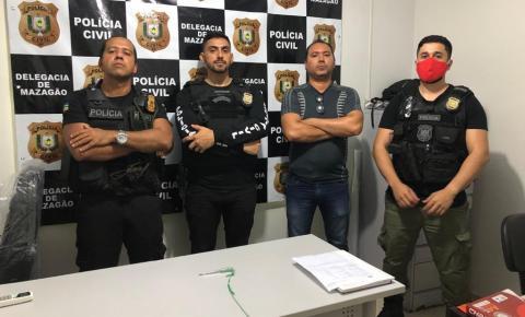Integrante de facção que atuava no tráfico de drogas é preso em Mazagão.